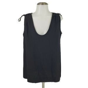 New J Crew Shoulder Tie Top Sleeveless Blouse